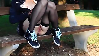 Incredible Homemade video with College, Flashing scenes