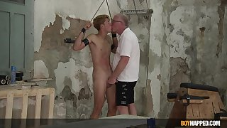 Amazing literal BDSM with his old tramp be useful to a perfect gay dissimulation